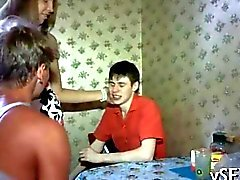 two hot Russian babes gets fucked real hard