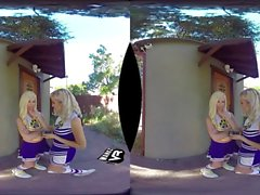 Threesome With 2 Cheerleaders! (VR)