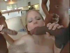Pregnant Teen Fucked By Three Big Black Cocks (TeRRiFieR)