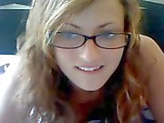 Excitable Chick on Cam