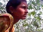 Indian Couple Being Naughty Outdoors
