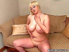 Malibu Candi Plays With Her Hooters