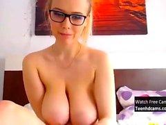 Amazing Teen With Huge Tits