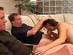 Hot Young Wife Fucked By Hubby and Dirty D
