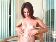 Ashley Oils Her Perfect Body