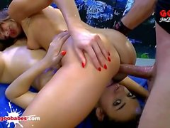 Paola Mike and Khadisha Latina nasty cum whores - German Goo Girls