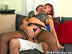 Hot MILF Gets Fingered by a young neighbor