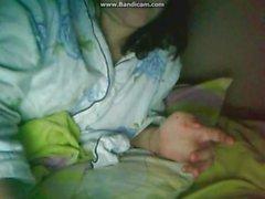 Madalina,curva din clinceni,face show la webcam