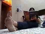 Feet of Mature Indian GODDESS 2