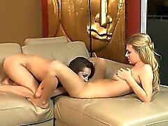 Spread legs of unique pornstar babes