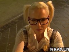 Krakenhot - Public outdoor Submission with a Teen