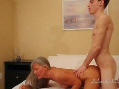 Milf Blackmailed by Young Man