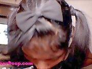 Thai Teen Heather Deep gives deepthroat throa