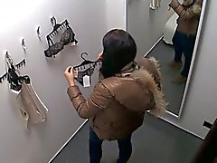Czech hottie naked in the fitting room