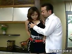 Japanese housewife gets seduced by her husbands best friend