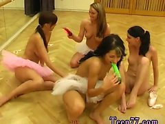 Lesbian vipissy mouth Hot ballet lady orgy