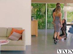 VIXEN Uma Jolie and Amia Miley Share a Cock