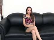 Nikki Next gets fishhooked and fucked on the BANG couch