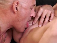 Daddy game and old man threesome two girls Horny blond