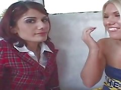 HumiliatedSchoolgirls - Teens Picked Up From School and Banged