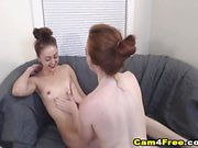 Beautiful Hot Lesbian Playing Each Other Pussy