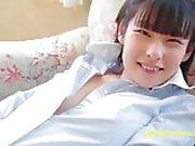 Jav Debut Teen Yuzuna Aida Teases Doing Exercise
