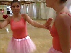 BFFS - Cute Petite Ballerina Fucked By her Friends
