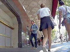 Upskirt - This teen's ass is priceless