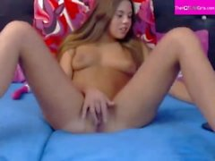 thehotcamgirls - Very Sexy Teen Pussy Masturbation