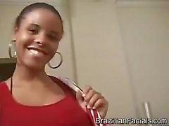 Brazilian Facials Hot Nerd Ebony Teen