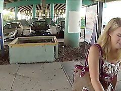 Stranded teen Dexie gets Fucked hardcore