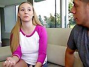 TeenPies - Blonde Teens First Creampie!