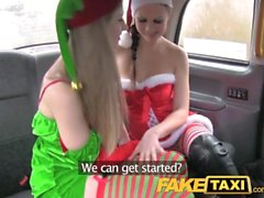 FakeTaxi Santas naughty helpers