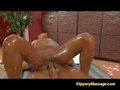 cute slippery nuru massage teens