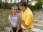 Teen Schoolgirl Fucking Outside