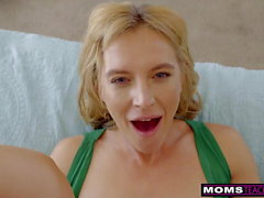 MomsTeachSex - Hot Wife Uses Step Sons Cock In Revenge Fuck
