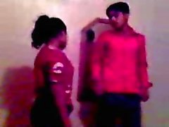 Indian teens try sex while friend records