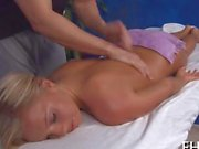 This isnt a Swedish massage a blonde teen thought