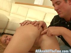 Amateur Teen Heather Lee Gets Her Ass Fucked for All Anal!