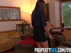 PropertySex - Young real estate agent fucks client for first sale