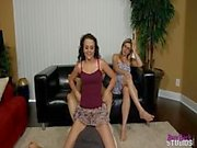 Brooklyn Daniels in Daughters Little Secret - Football Wrestling