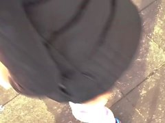 German Teen ANAL Public Amateur Gangbang Compilation