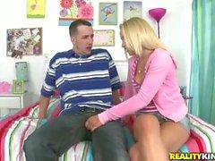 Young blonde Chris Strokes seduces a boy