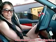 Pinay Scandal at Jollibee Drive-thru NUDE Big Tits Filipina Sex Prank