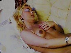 Blonde sexy girl