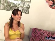 Michelle Brown pleasures two fat dongs