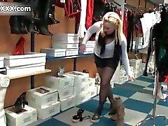 Cute blonde Austrian amateur girl loves