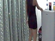 hot pattayababe tease in my room