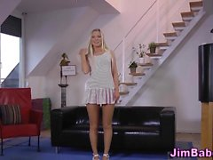 Pov teenager blowing old