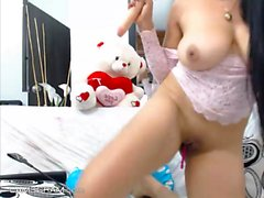 Lustful Teen Whore Shows It All And Masturbates On Cam